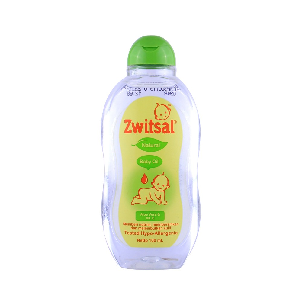 ZWITSAL Baby Oil Natural with Aloe Vera and Vit E 100 ml